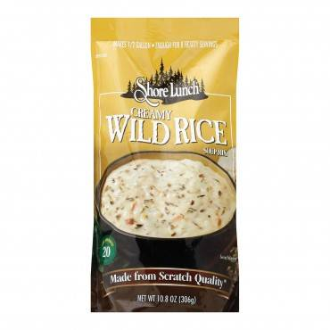 Shore Lunch Soup Mix - Wild Rice - Case of 6 - 10.8 oz