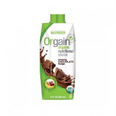 Orgain Organic Nutritional Shakes - Creamy Chocolate Fudge - 11 Fl Oz.