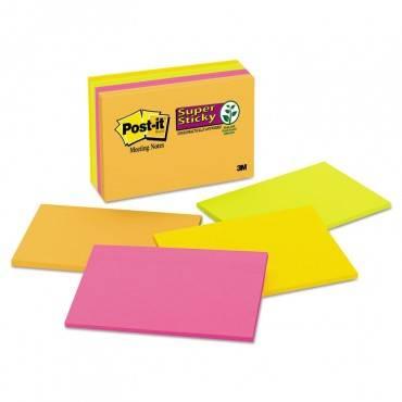 Meeting Notes In Rio De Janeiro Colors, 6 X 4, 45-sheet, 8/pack