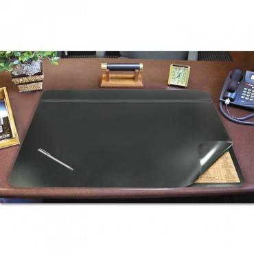 Hide-away Pvc Desk Pad, 31 X 20, Black