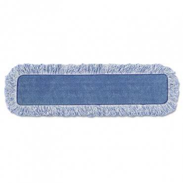 "High Absorbency Mop Pad, Nylon/polyester Microfiber, 18"" Long, Blue"