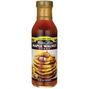 Walden Farms Syrup - Maple Walnut - Case Of 6 - 12 Fl Oz
