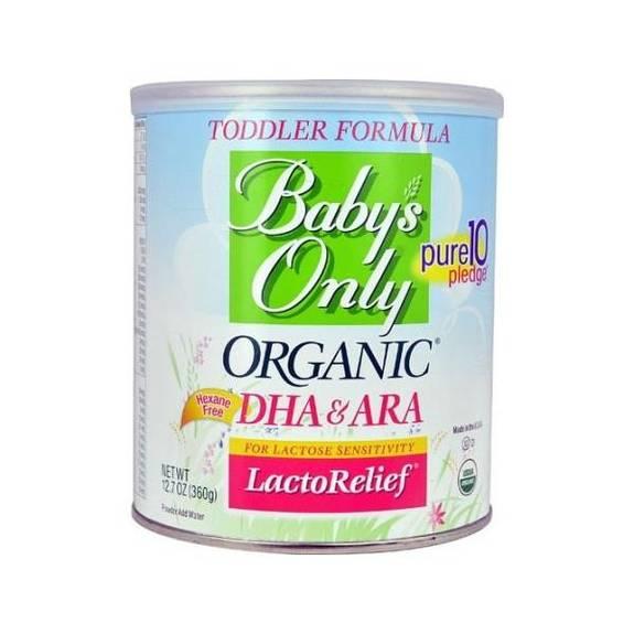 Babys Only Organic Toddler Formula Organic Lactorelief