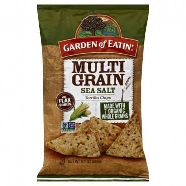 Garden Of Eatin' Multigrain Sea Salt - Multigrain - Case Of 12 - 8.1 Oz.