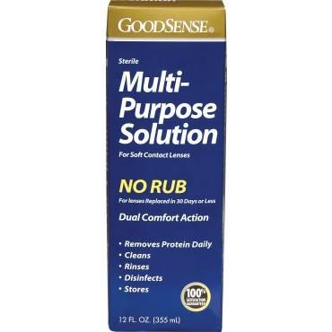 Multi-purpose Saline Solution For Soft Contact Lenses, 12 Oz. Part No. Kc00020 (1/ea)