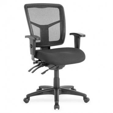 Lorell Managerial Swivel Mesh Mid-back Chair (EA/EACH)