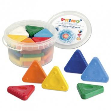 Stride PRIMO TRIANGLE CRAYONS, ASSORTED COLORS, 30/PACK 0771TR 30 package