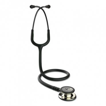 """3m  LITTMANN CLASSIC III MONITORING STETHOSCOPE, DOUBLE-SIDED CHESTPIECE, 27"""" BLACK 5861 1 Each"""