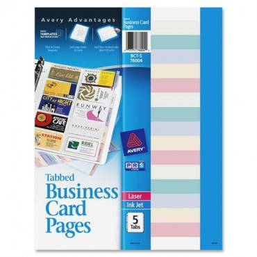 Avery® Business Card Pages (PK/PACKAGE)