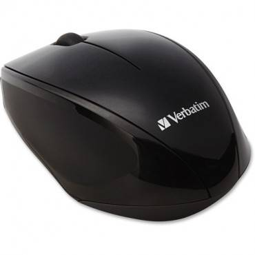 Verbatim Wireless Notebook Multi-Trac Blue LED Mouse - Black (EA/EACH)