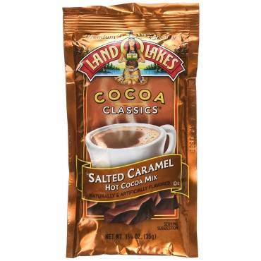 Land O Lakes Cocoa Packets - Salted Caramel - Case Of 12 - 1.25 Oz