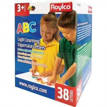 Roylco Light Learning: Uppercase Letters (BX/BOX)