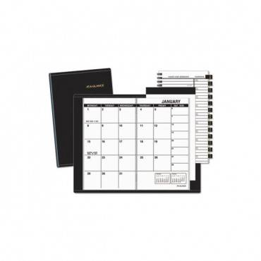 Pocket-size Monthly Planner, 6 1/8 X 3 1/2, White, 2020-2021