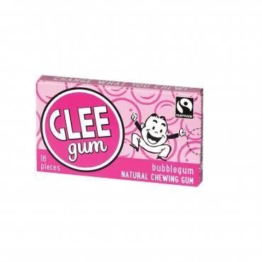 Glee Gum Chewing Gum - Bubblegum - Case Of 12 - 16 Pieces