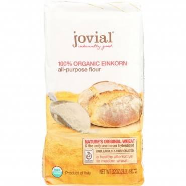 Jovial - Flour - Organic - Einkorn - All-purpose - 32 Oz - Case Of 10