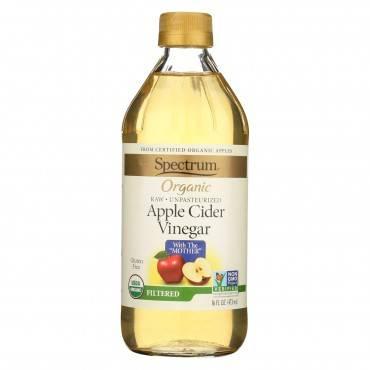 Spectrum Naturals Organic Filtered Apple Cider - 16 Fl Oz.