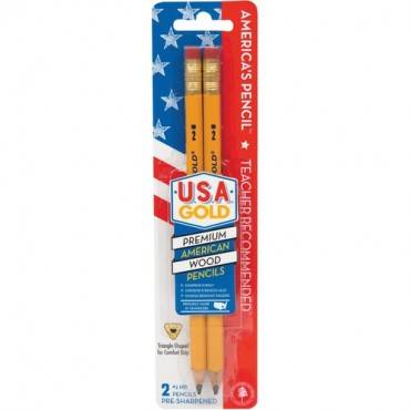 The Write Dudes Jumbo USA Gold Premium No. 2 Pencils (PK/PACKAGE)