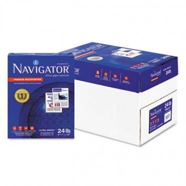 Premium Multipurpose Copy Paper, 99 Bright, 24lb, 8.5 X 11, White, 500 Sheets/ream, 10 Reams/carton