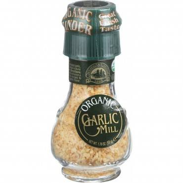 Drogheria And Alimentari Spice Mill - Organic Garlic - 1.76 Oz - Case Of 6