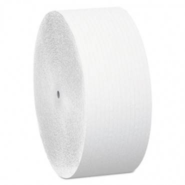 Essential Coreless Jrt, Septic Safe, 2-ply, White, 1150 Ft, 12 Rolls/carton