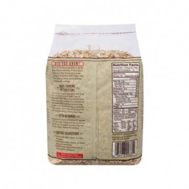 Bob's Red Mill - Gluten Free Old Fashion Rolled Oats - 25 Lb - Bulk Bag