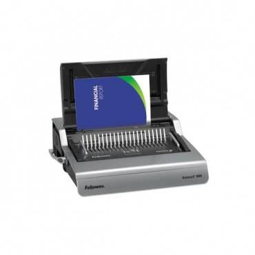 Galaxy 500 Electric Comb Binding System, 500 Sheets, 19 5/8x17 3/4x6 1/2, Gray