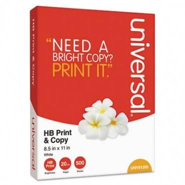 Multipurpose Paper, 95-96 Bright, 20lb, 8.5 X 11, White, 500 Sheets/ream, 10 Reams/carton