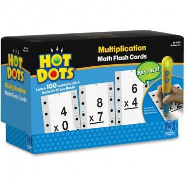 Hot Dots Hot Dots Multiplication Math Flash Cards (ST/SET)