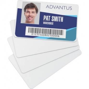 Advantus Blank PVC ID Cards (PK/PACKAGE)