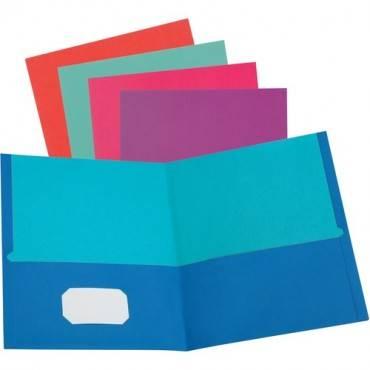 Oxford Twisted Twin Pocket Folder (BX/BOX)