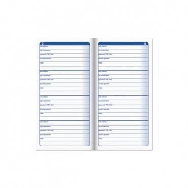 Password Journal, 3 1/4 X 6 1/4, 192 Entries