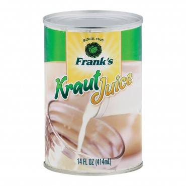 Frank's Kraut Juice - Case of 12 - 14 fl oz