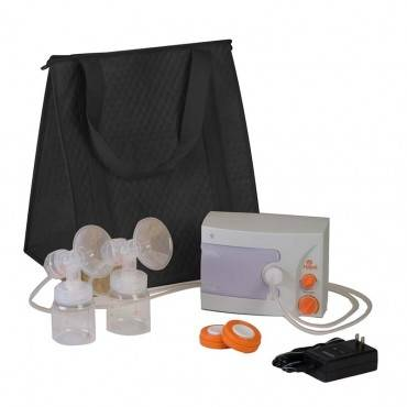 Hygeia Q Breast Pump With Deluxe Tote, Pas Personal Accessory Set And Power Supply Part No. 10-0275 (1/ea)