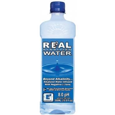 Real Water Alkalized Water - Antioxidant - Case Of 24 - 16.9 Fl Oz.