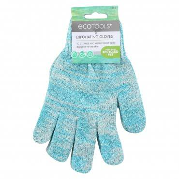 Eco Tool Recycled Bath & Shower Gloves - Case of 6 - 1 PAIR