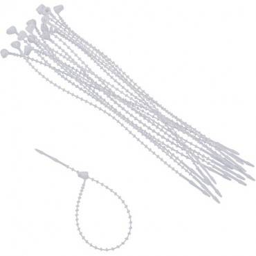 Advantus Beaded Cable Ties (PK/PACKAGE)
