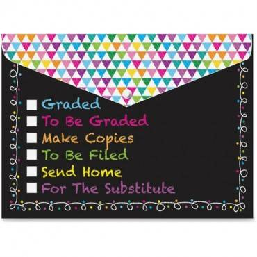 Ashley Checklist Snap Cover Poly Folders (PK/PACKAGE)