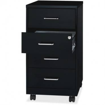 "Lorell 26-1/2"" Mobile Storage Cabinet (EA/EACH)"