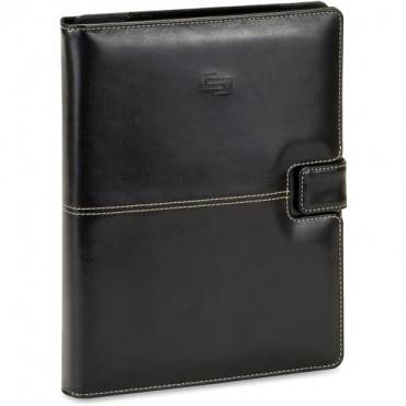 "Solo Vintage Carrying Case (Book Fold) for 11"" Digital Text Reader - Black (EA/EACH)"