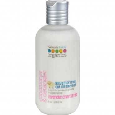 Nature's Baby Organics Conditioner and Detangler Lavender Chamomile - 8 fl oz
