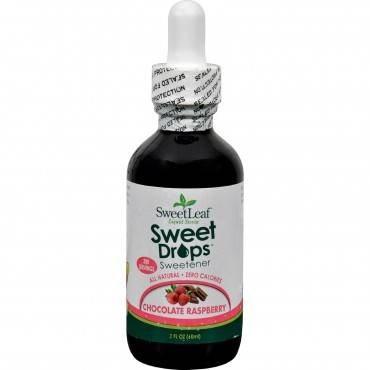 Sweet Leaf Liquid Stevia Chocolate Raspberry - 2 Fl Oz