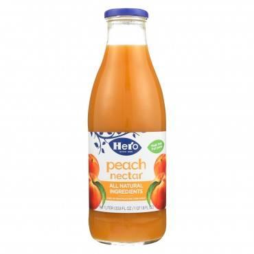 Hero Preserves - Peach Nectar - Case of 6 - 33.8 oz