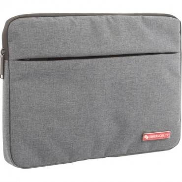 "Swiss Mobility Carrying Case (Sleeve) for 13.3"" Notebook, Tablet - Gray (EA/EACH)"