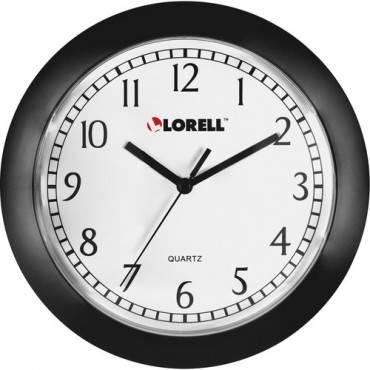 "Lorell 9"" Round Profile Wall Clock (EA/EACH)"