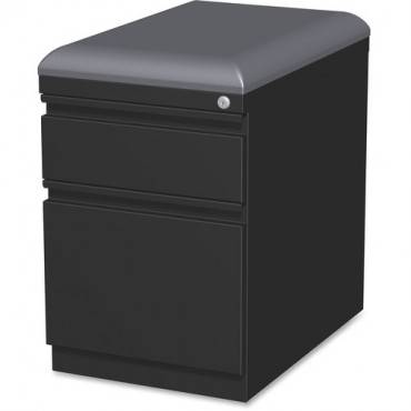 Lorell Mobile Pedestal File with Seating (EA/EACH)