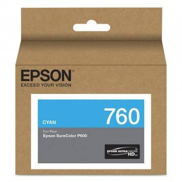 Epson  T760220 (760) Ultrachrome Hd Ink, Cyan