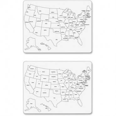 Creativity Street Large USA Map Whiteboard (EA/EACH)