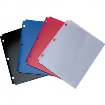 Wilson Jones® Snapper Folder, Letter Size, Two Pockets, Classic Color Assortment (EA/EACH)