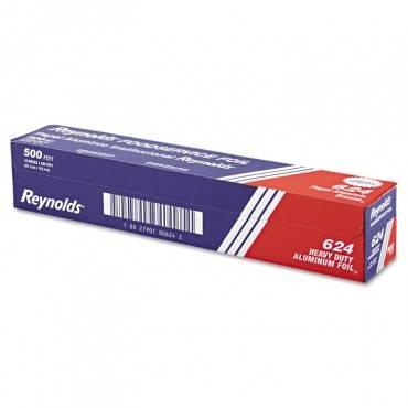 """Heavy Duty Aluminum Foil Roll, 18"""" X 500 Ft, Silver"""