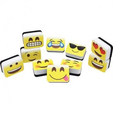 Ashley Emojis Mini Whiteboard Eraser (PK/PACKAGE)